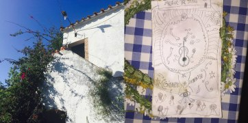 El Pedroso y dibujo de Tomás. Artwork y fotos: Daniel Alonso